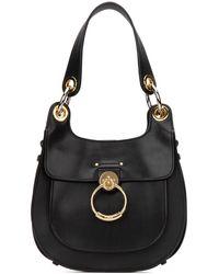 Chloé Tess Hobo Bag - Black