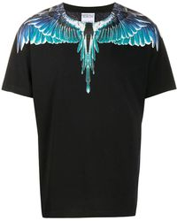 Marcelo Burlon Wings T-shirt - Black
