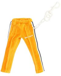 Palm Angels Track Trousers Keyring - Yellow
