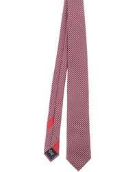 Ermenegildo Zegna Patterned Tie - Red