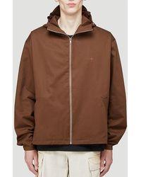 EDEN power corp Enoki Zipped Hooded Jacket - Brown