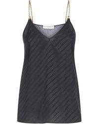 Givenchy Chain Strap Camisole - Black