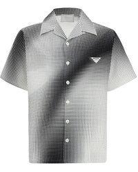 Prada Logo Print Short-sleeve Shirt - Multicolour