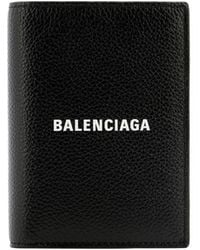"Balenciaga """" Vertical Wallet - Black"
