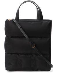 Marni Puffer Top-handle Tote Bag - Black