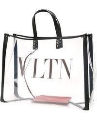 Valentino Garavani Rockstud Vltn Shopper Bag - Multicolor