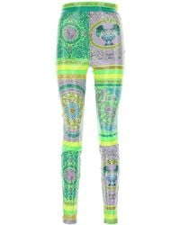 Versace - Barocco Print Trousers - Lyst