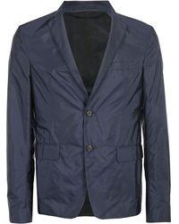 Prada Single Breasted Blazer - Blue