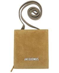 Jacquemus Le Gadjo Strap Wallet - Yellow
