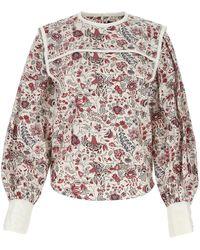 Isabel Marant Floral Print Blouse - Multicolor