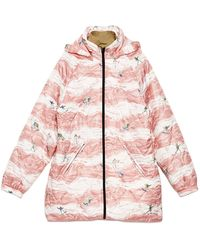 Martine Rose Polyester Down Jacket - Pink