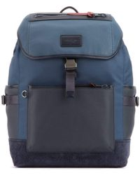 COACH - Manhattan Buckled Backpack - Lyst