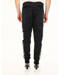 Greg Lauren Cotton jogging Trousers - Black