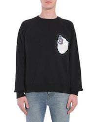 Golden Goose Printed Sweatshirt - Black