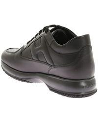 Hogan Interactive Low-top Sneakers - Black