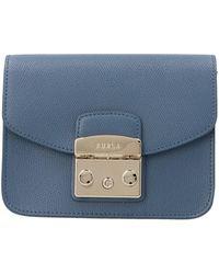 Furla Metropolis Mini Crossbody Bag - Blue