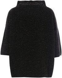 Max Mara Oversize Jumper - Black