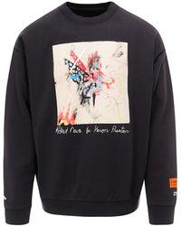 Heron Preston Robert Nava Sweatshirt - Black