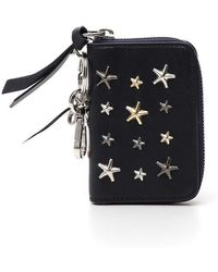 Jimmy Choo - Cadet Zip Around Wallet - Lyst