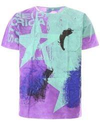 Raf Simons Handpainted Hospital T-shirt - Purple
