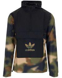 adidas Originals Camo Windbreaker Jacket - Multicolor