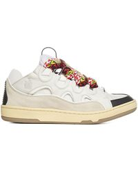 Lanvin Curb Low-top Sneakers - White