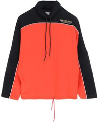Martine Rose Panelled Drawstring Pullover - Red