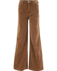 """FRAME """"le Palazzo"""" Corduroy Trousers - Brown"""