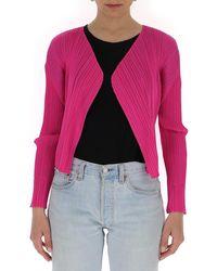 Pleats Please Issey Miyake Pleated Jacket - Pink