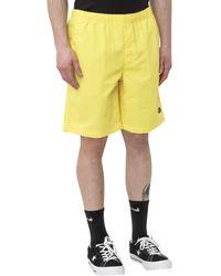 The North Face Classic Logo Swim Shorts - Yellow