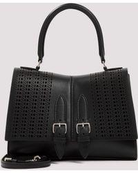 Alaïa Bellechasse 25 Tote Bag - Black