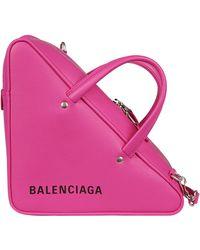 Balenciaga Triangle S Duffle Bag - Pink