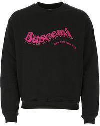 Buscemi Logo Printed Sweatshirt - Black