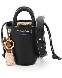 See By Chloé Cecilya Mini Tote Bag - Black
