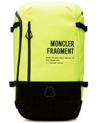 Moncler Genius - 7 Moncler Fragment Hiroshi Fujiwara - Logo Backpack - Yellow