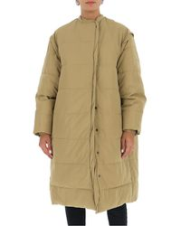 Givenchy Oversized Padded Coat - Natural