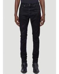 Saint Laurent Skinny Denim Jeans - Black