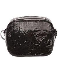 Saint Laurent - Camera Sequin Bag - Lyst