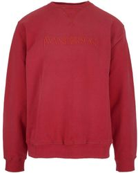 JW Anderson - Embroidered Logo Sweater - Lyst