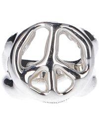 Ambush Peace Ring - Metallic