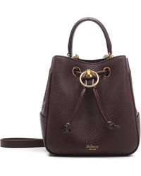 Mulberry Hampstead Bucket Bag - Purple