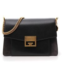 Givenchy Gv3 Small Chain Bag - Black