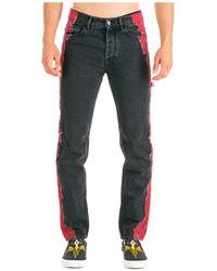 Marcelo Burlon Men's Jeans Denim - Black