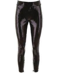 MICHAEL Michael Kors Sequined Leggings - Black