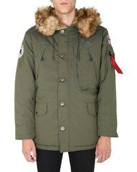 Alpha Industries Other Materials Outerwear Jacket - Green