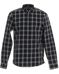MICHAEL Michael Kors Checked Shirt - Black