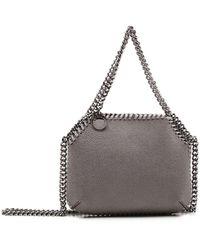 Stella McCartney Falabella Mini Shoulder Bag - Grey