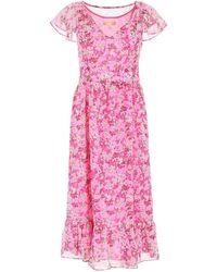 MICHAEL Michael Kors Floral Print Dress - Pink