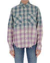 Amiri Gradient Checked Shirt - Multicolour