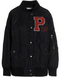 Philosophy Di Lorenzo Serafini Logo Patch Jacket - Black